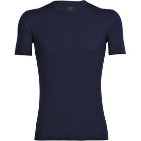 Icebreaker Anatomica Koszulka z krótkim rękawem Mężczyźni, niebieski